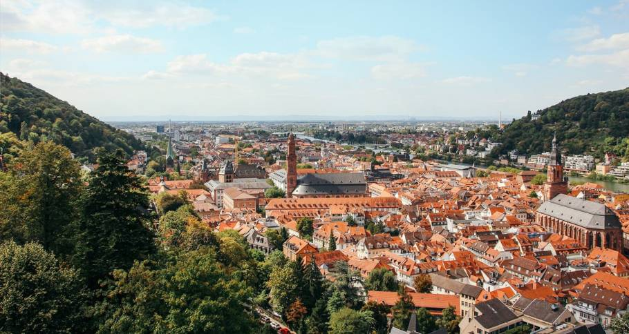 Landscape photo of Heidelberg, Germany. Home of the MODXpo 2020