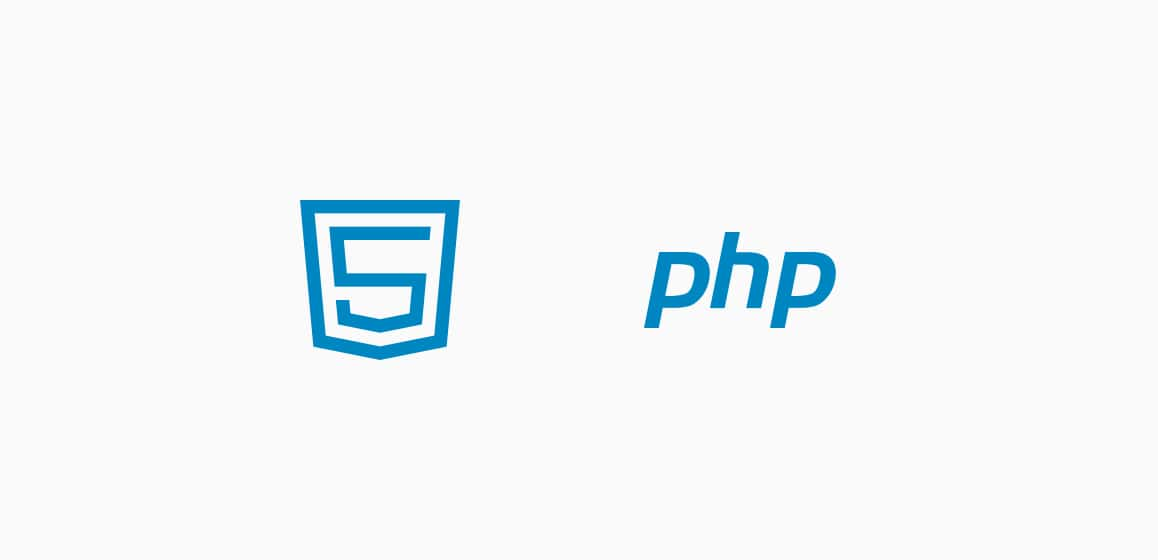Web development HTML5 and PHP